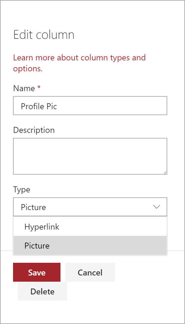 Working around the limitations of the SharePoint picture